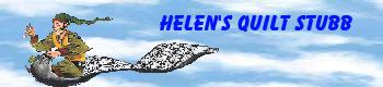 Helen's Quilt Stubb