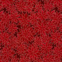 Seasons Greetings, Blumen, Rot