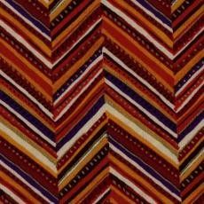 Ethnic Herringbone, Rust