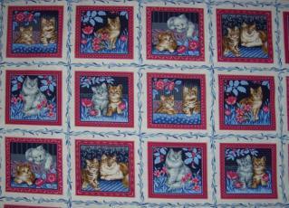 Wilhelm Morris Cats, Mini Panele