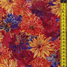 Quilt Samba, Blumen