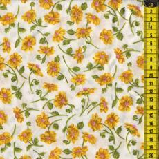 Dazzling Dallias, Blüten, Gelb
