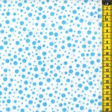 Ladybug, Blaue Punkte, Weiß