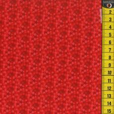 Razzle Dazzle Texture Cherry, Rot