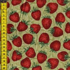 Strawberry Delight, Erdbeeren, Grün