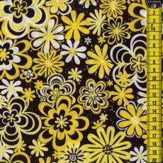 Yellow Mellow, Blumen, Gelb/Schwarz