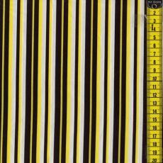 Yellow Mellow, Streifen, Gelb/Schwarz/Weiß