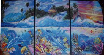 Children of the Sea, Delfine, Panel