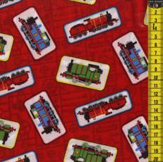 Thomas der Zug, Züge, Rot