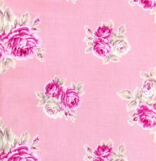 French Hat Box: Dusky Pink small Rose Print