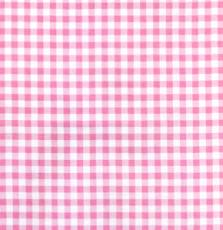 French Hat Box: Rose Pink Check Print