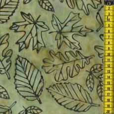 Batik Nature Pine, Grün
