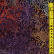 Batik, Great Barrier, Schmetterlinge, Multicolor