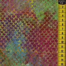Batik, Prismatic Lights, Schuppen, Multicolor