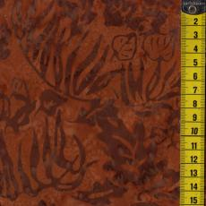 Batik, Chestnut Blaze, Blätter, Braun