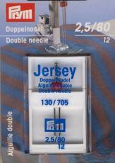 Jersey Doppel Nadel 80/2,5 mm
