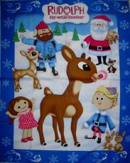 Weihnachtspanel mit Rudolf, Panel