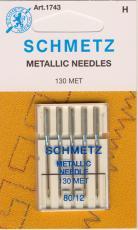 Nähmaschinennadeln für Metallic Garne
