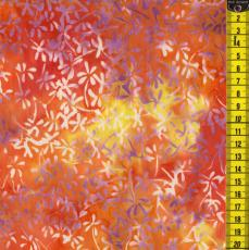 Batik, Garden Party, Orange
