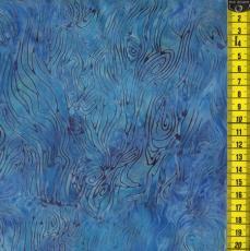 Batik, Reflections, Wellen, Türkis