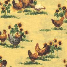 Farm Animal, Hühner, Gelb