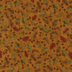 Acorn Hollow, Blätter, hellbraun