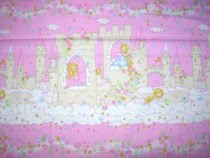 Märchenschloss mit Prinzessin, Rosa