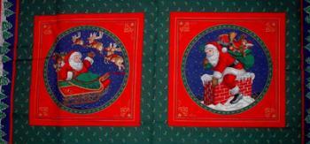Santa's Visit Panel