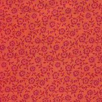 Colorshop, Blumen, Pink auf Orange