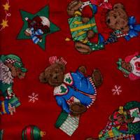 Christmas Teddy Bear, Rot