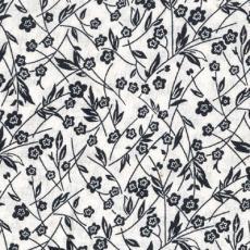 Colorshop, Schwarze Blumen, Weiß