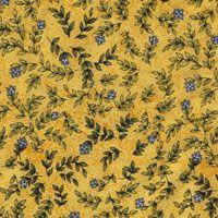 Roosters Roost, Blaue Blumen, Gelb