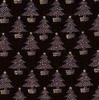 Goldene Tannenbäume, Schwarz