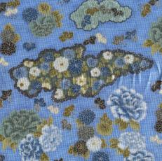 Mahou Floral Screen, Blumen, Blau