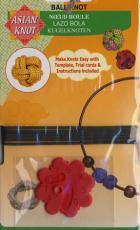 Asian Knot Schablone - Ball Knot