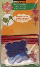 Asian Knot Schablone - Button Knot