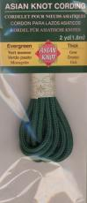 Asian Knot Kordel, Moosgrün, dick