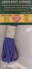 Asian Knot Kordel, Mittelblau, dick