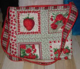 Materialpackung Shopper Erdbeerbowle