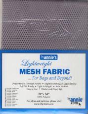 Mesh Fabric - Netzstoff Silber