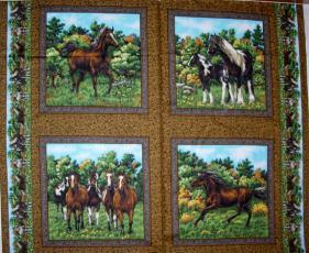 Nature's Corner, Pferde Panel