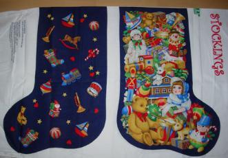Toyland Stockings, Panel