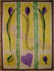 Materialpackung Wandbehang Tulipan