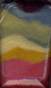 Filzwolle / Märchenwolle - Multicolor