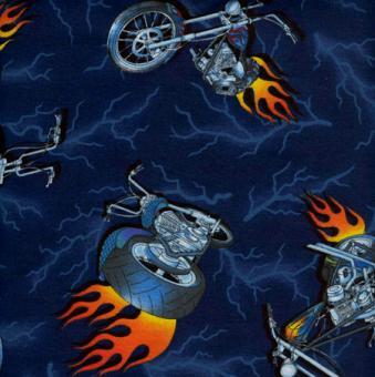 Motorräder, Blau