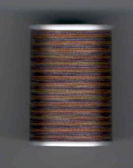 Coats Dual Duty Handquiltgarn, Multicolor Braun 811, 228m