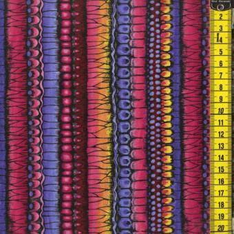 Flutterbright, Streifen, Multicolor (Blau/Pink)