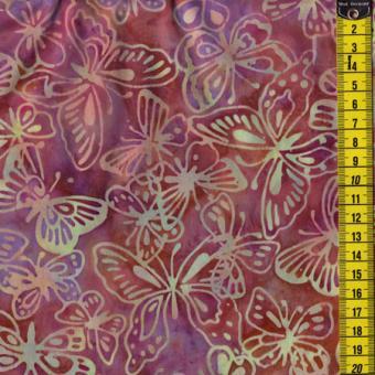 Batik, Rosebud Sweet, Schmetterlinge, Rose