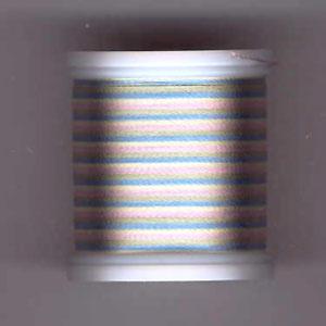 Rayon Garn, Multicolor Pastel 2103, No. 40, 200m