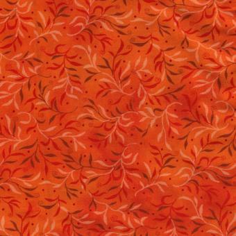 Basic Orange mit kleinen Ranken